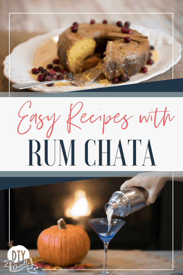 Easy recipes to make with Rum Chata, one of my favorite alcoholic beverages.