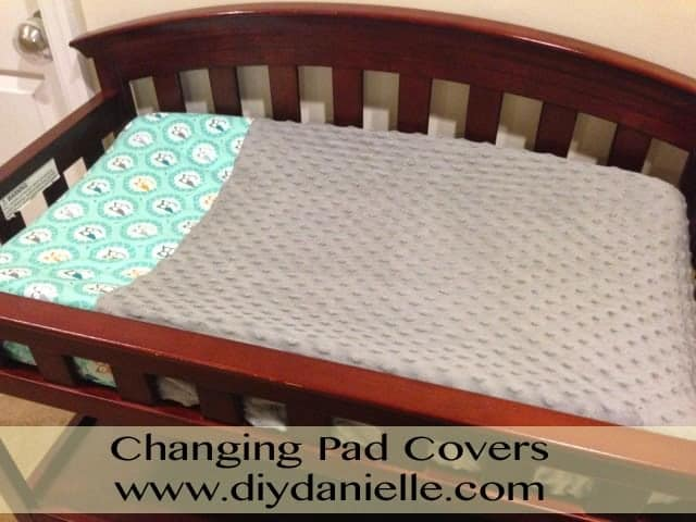 How to make your own changing pad covers.