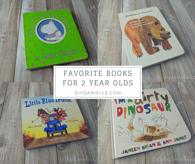 Best board books for 2 year olds.