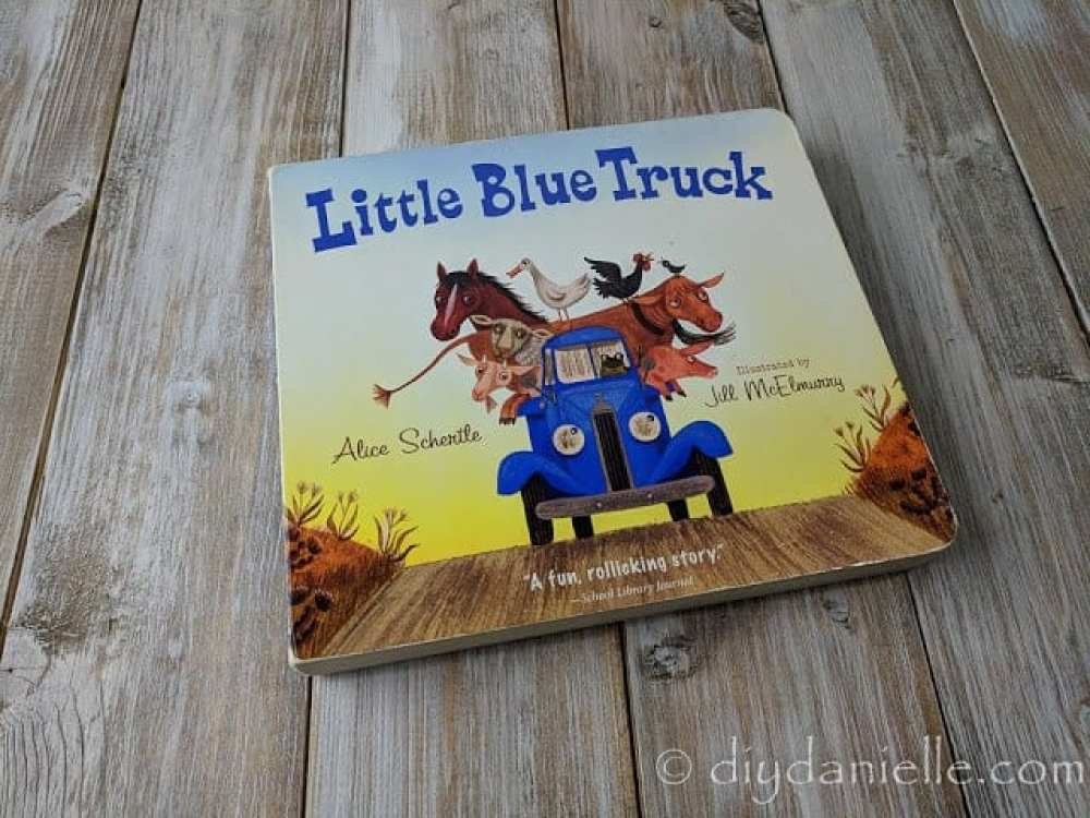 The Little Blue Truck is a favorite book for my 2 year old.