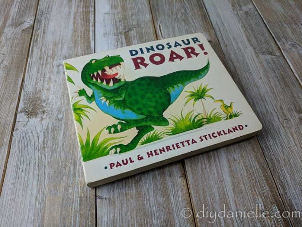 Dinosaur Roar! is a cute book for 2 year olds