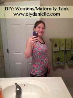 how to diy a tank top for women