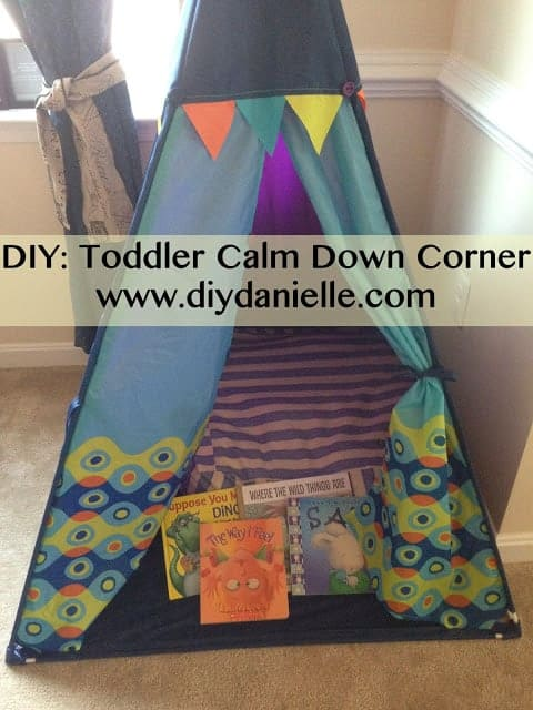 how to make a quiet space for your toddler
