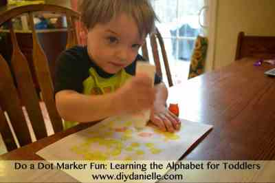 How to teach toddlers the alphabet.