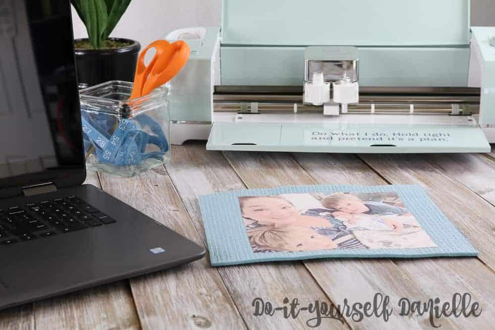 DIY Photo Mouse Pad