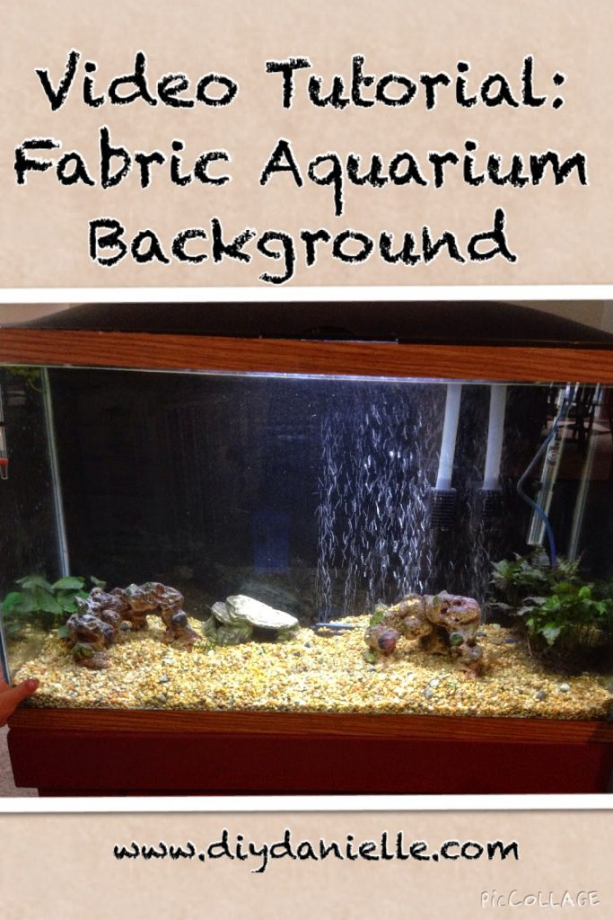 How to make your own aquarium background easily and affordably.