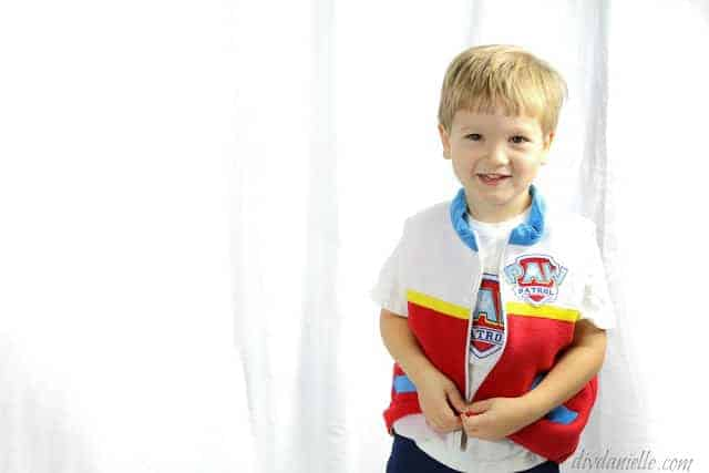 How to Make a Paw Patrol Ryder Costume
