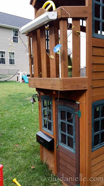 DIY Accessories for a swing set.