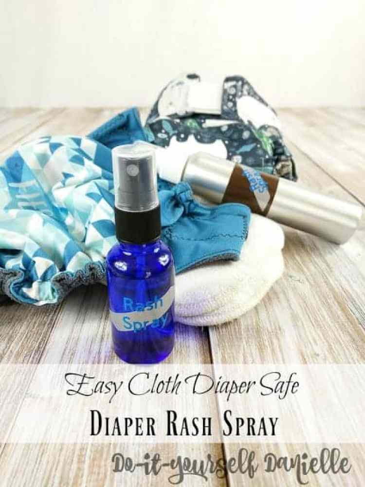 DIY Diaper Rash Spray