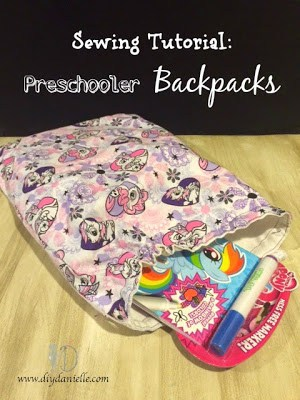 Sewing a Preschool Backpack