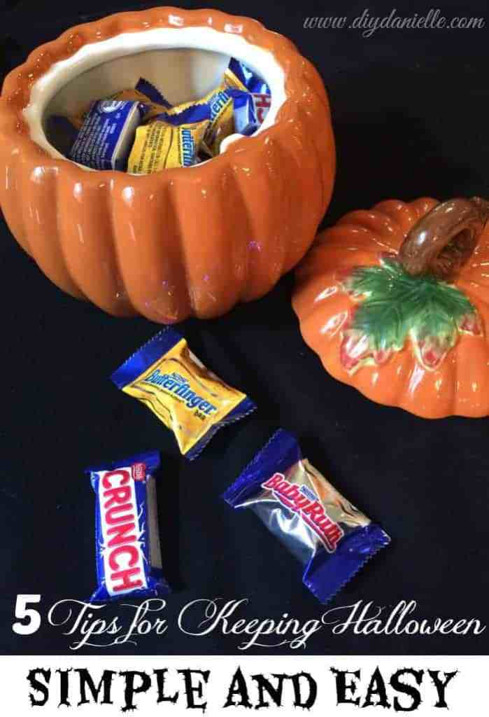 5 Tips for keeping Halloween Simple and Easy with Nestle Products at Walmart. #ad #Treats4All #CollectiveBias