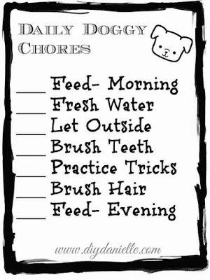 Check out this easy to use dog care chore checklist for toddlers (and older children too!). This free printable will help you engage your child in caring for the family dog, as well as serve as a reminder for adults to complete pet chores.
