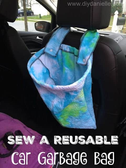 How to Make a Reusable Garbage Bag for Your Car