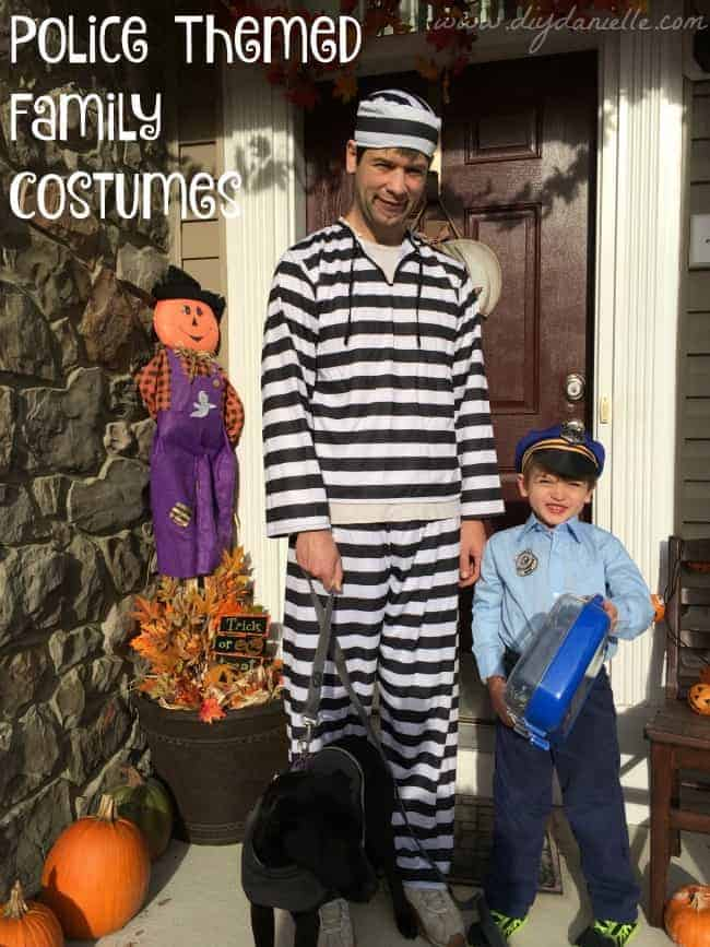 family police costumes