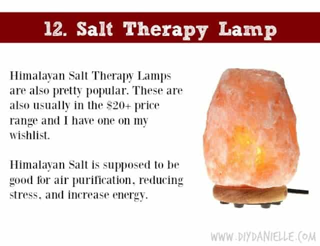 Holiday Gift Idea for Adults: Himalayan Salt Therapy Lamp