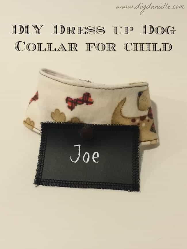 Children's Pretend Play Dog Collar