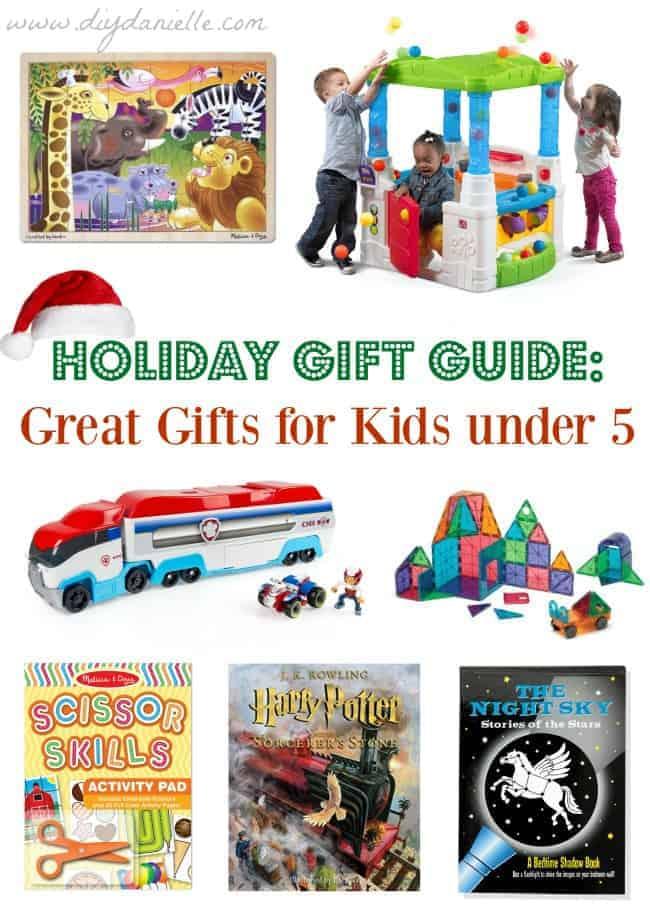 Gift Ideas for Children under 5 years old