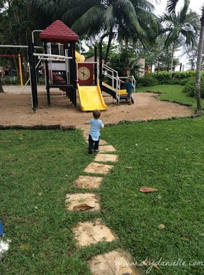Playground at Beaches Resort in Negril, Jamaica