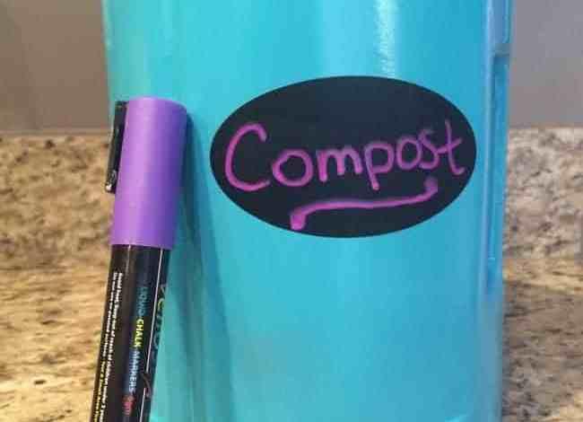 DIY Indoor Compost Container