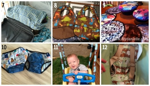 I love all of these ideas for using PUL fabric. It's not just for diapers! #sewing