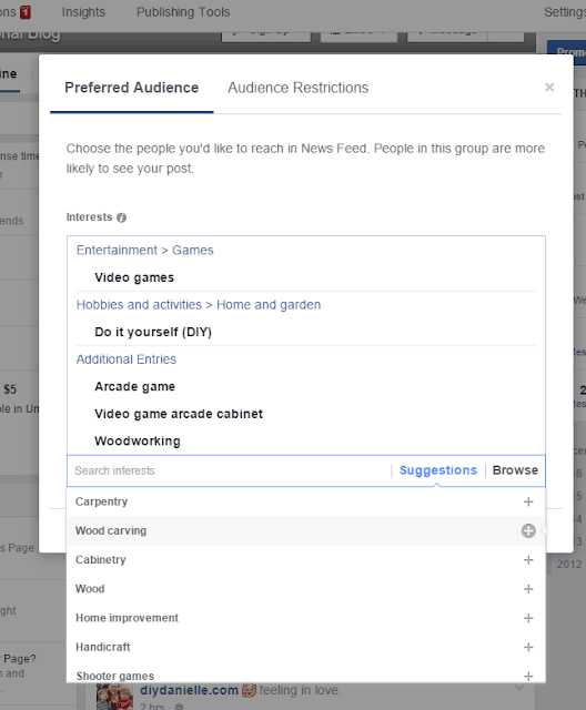 How to increase your Facebook reach by adding a preferred audience for posts.