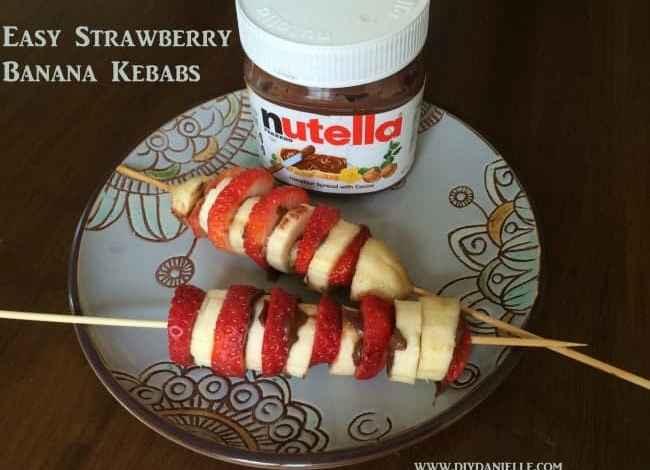 Strawberry Banana Kebabs