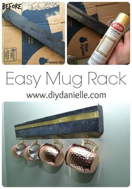 DIY Mug Display