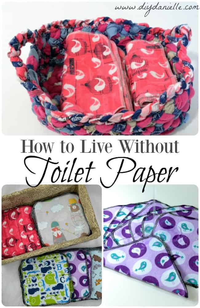 How to live without toilet paper: Saving money and the environment by switching to reusable cloth wipes.