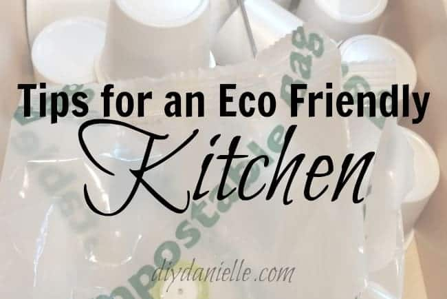 Tips for making your kitchen more eco friendly.