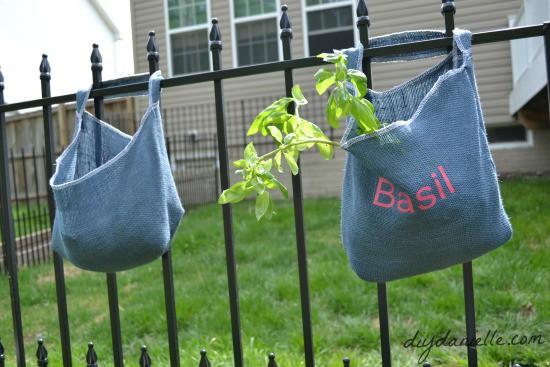 DIY Affordable Herb Planter.
