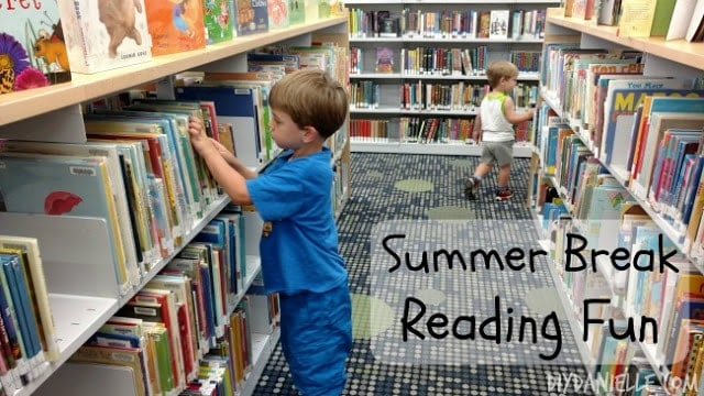 Summer Break Reading Activities (that you and your kids will love!)
