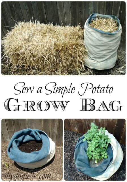 Sew A Simple Potato Grow Bag Diy Danielle