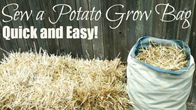 Sew a Simple Potato Grow Bag