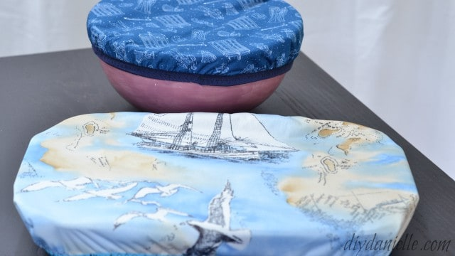DIY Reusable Bowl and Casserole Covers