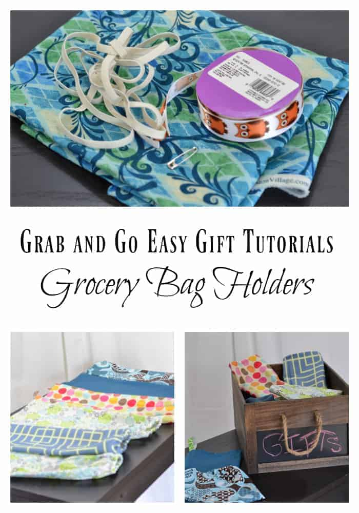 Sew Your Own Grocery Bag Dispensers!
