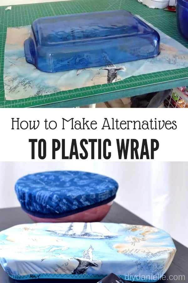 How to make an alternative to plastic wrap: Sew easy bowl covers and casserole dish covers!