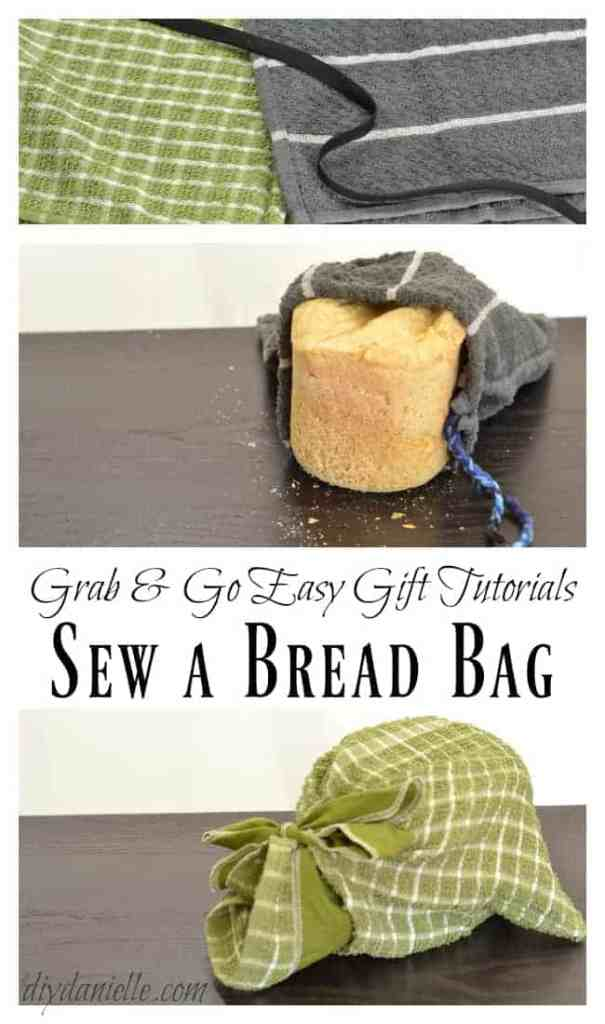 Learn to Make this Easy Reusable Bread Bag!