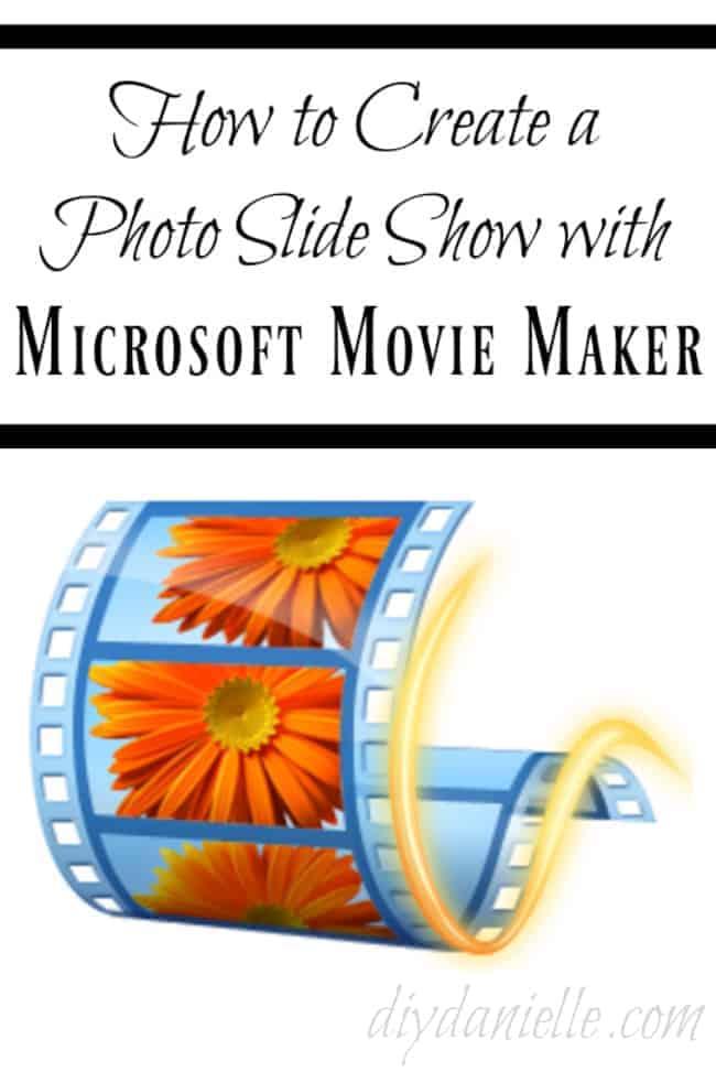 Learn how to make a photo slideshow.