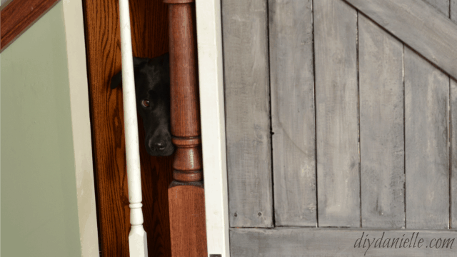 How to Build a Farmhouse Baby or Pet Gate