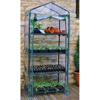 A greenhouse, sun room, or other planting items would make a great gift for a gardener.