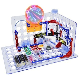 Snap Circuits are helpful if you want to teach your children about circuits and how electricity works.
