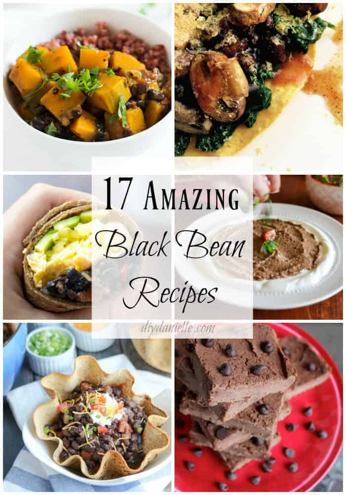 17 amazing black bean recipes if you're looking to add more folate and protein to your diet.