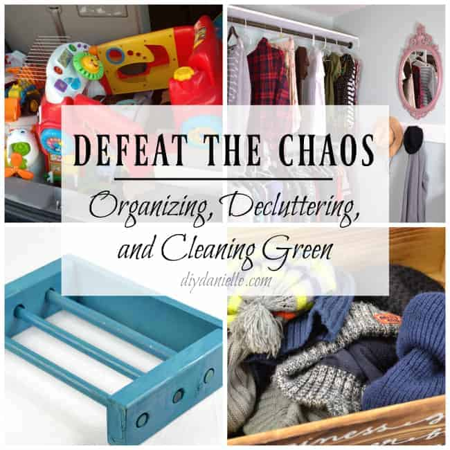 31 Days of Cleaning and Organization Tips and Projects