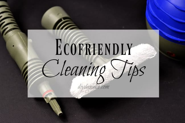 Ecofriendly cleaning tips.
