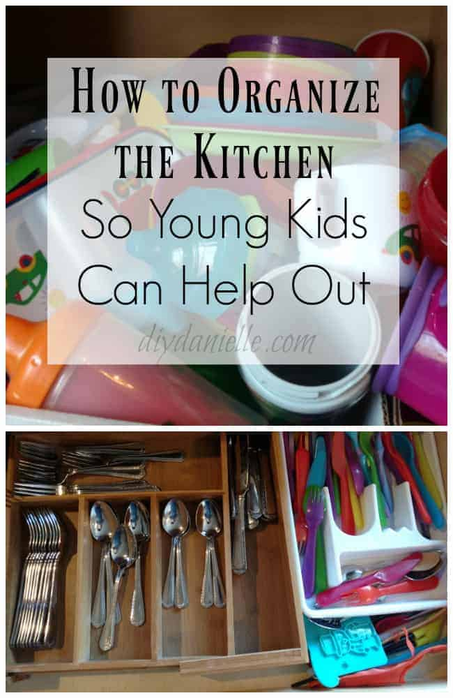 Organizing the Kitchen for Kids to Help