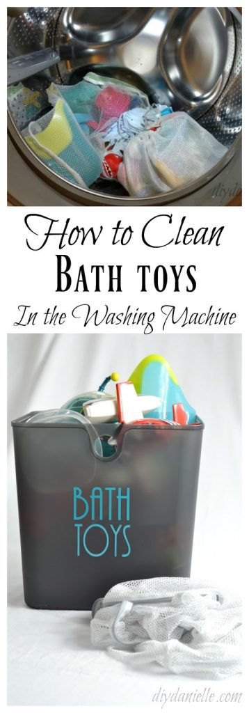 Cleaning children's bath toys in the washer is easy and quick. Learn how here.
