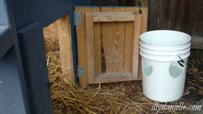 DIY Duck Waterer: No Mess
