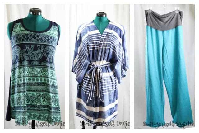 Women's post partum wardrobe ideas.