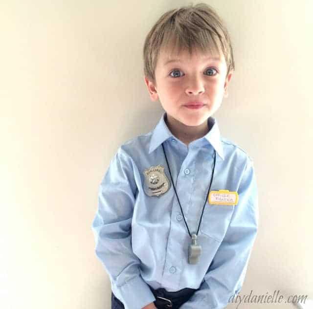 police costume diy