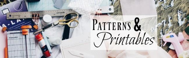Patterns & Printables